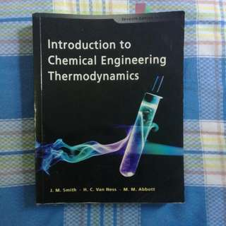 [Reserved] Introduction to Chemical Engineering Thermodynamics 7th Edition in SI Units