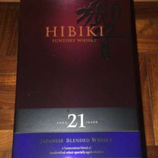 威士忌酒響21. Hibiki 21 Whisky