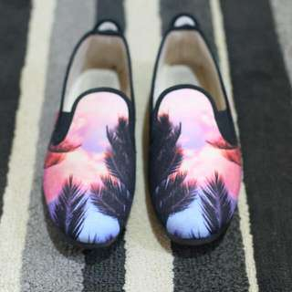 Flossy Sunset Slip On Shoes