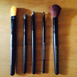 Sugarkiss By Elf 5 Piece Brush Set (Authentic)