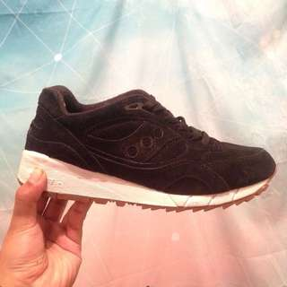 SAUCONY Black Coffee Shadow 6000 Suedes