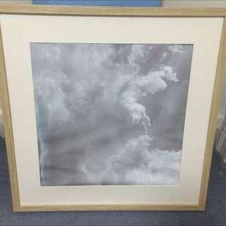 Framed Cloud Photo