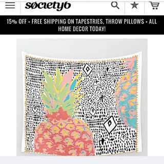 Tapestry From Society6