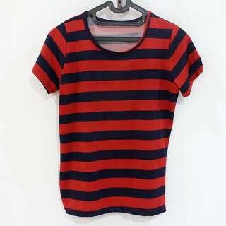 Red-Navy Stripes
