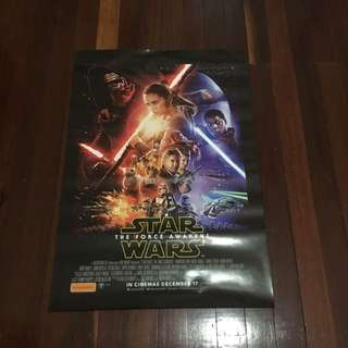 Star Wars Cinema Poster!