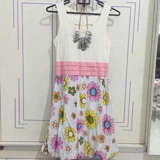 Preloved Flowery Anna Dress