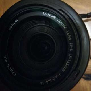 canon 650D (18-135mm)