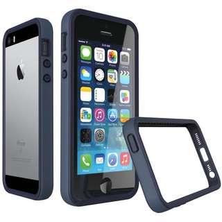 [凱ㄧ3C] iPhone 5/5s/SE 犀牛盾 防摔殼  DARK BLUE 靛藍 現貨 寶可夢 [可免卡分期][可搭配門號]