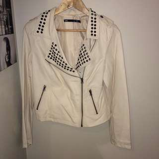 DOTTI Leather Style Jacket