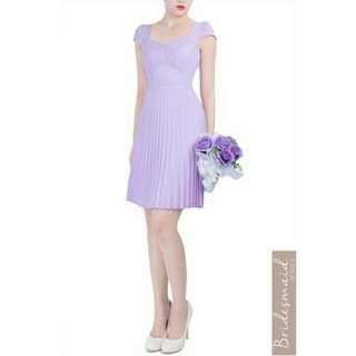 Doublewoot Bridesmaid Dress - Desofia (Lilac) (U.P. RM115)