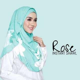 ROSE INSTANT SHAWL