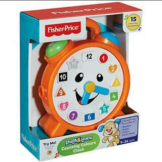 Fisherprice Laugh And Learn Counting Colours Clock