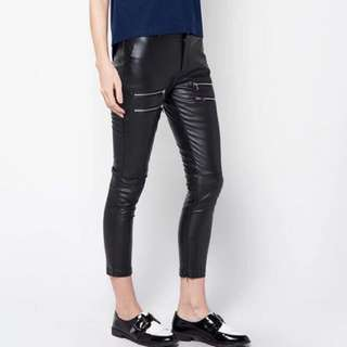 Celana kulit (Stretch pants) ZALORA