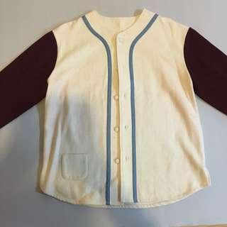 """保留中🉐Acrypsis """"000"""" wool baseball blouse 毛料棒球式外套"""