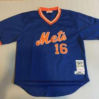 橘藍棒球衣