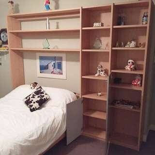 Bed/wall unit