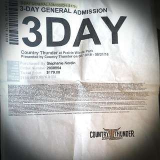 3-Day General Admission