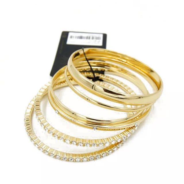 歐美風格-誇張滿鑽手環