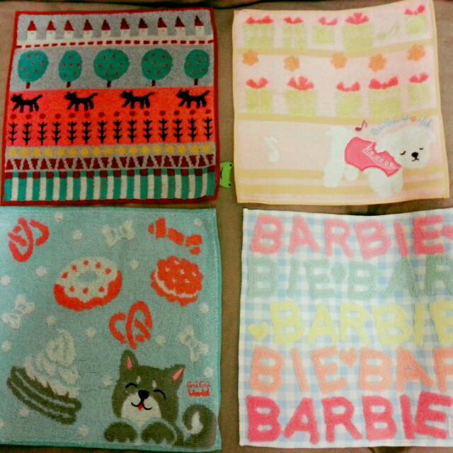 日式可愛手帕