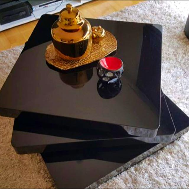 A stunning black Koala &Tree rotating boutique Coffee Table!!