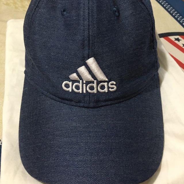 adidas牛仔老帽  正品