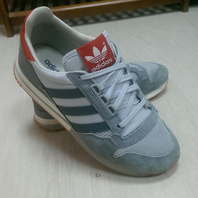 (保留中)Adidas鞋 灰白紅配色