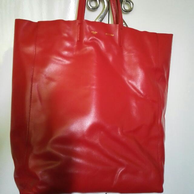 Authentic Celine Cabas Tote