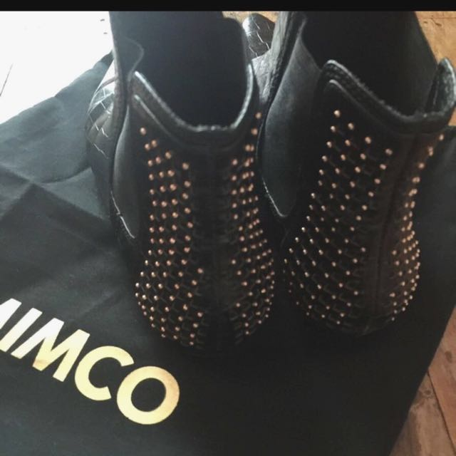Authentic Mimco Ankle Boots