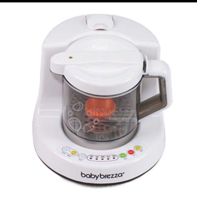 Baby Brezza 副食品自動料理機(二手)蓓蓓推薦