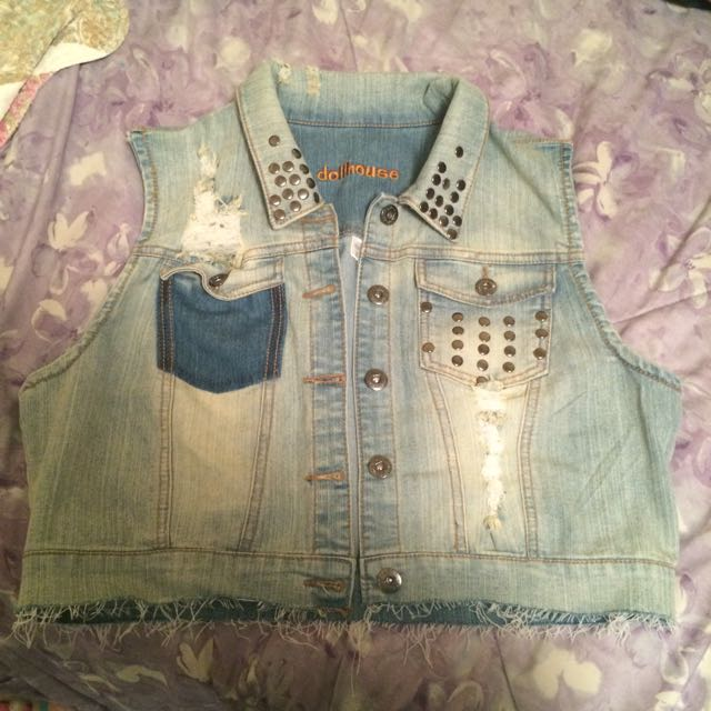 Bluenotes Denim Vest