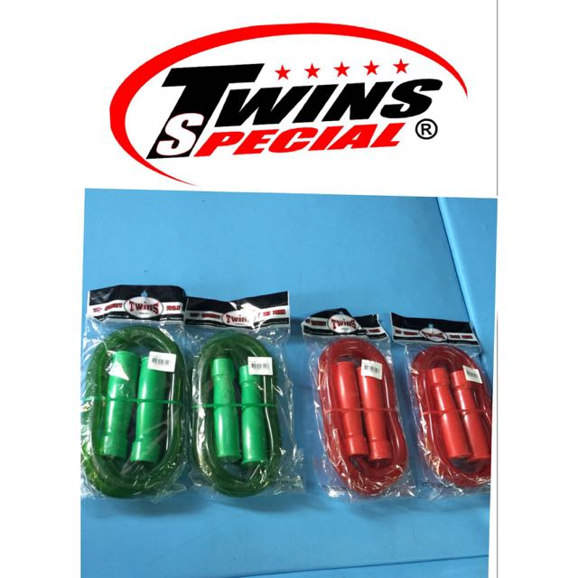 BNIP Twins Special Heavy Duty Skipping Rope ( Red / Green )