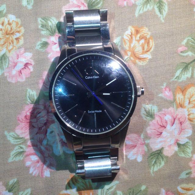 CK手錶(附替換錶帶、皮帶)