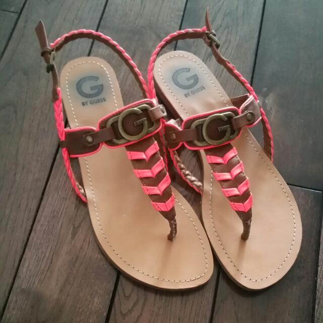 GUESS Coral Pink Flat sandal