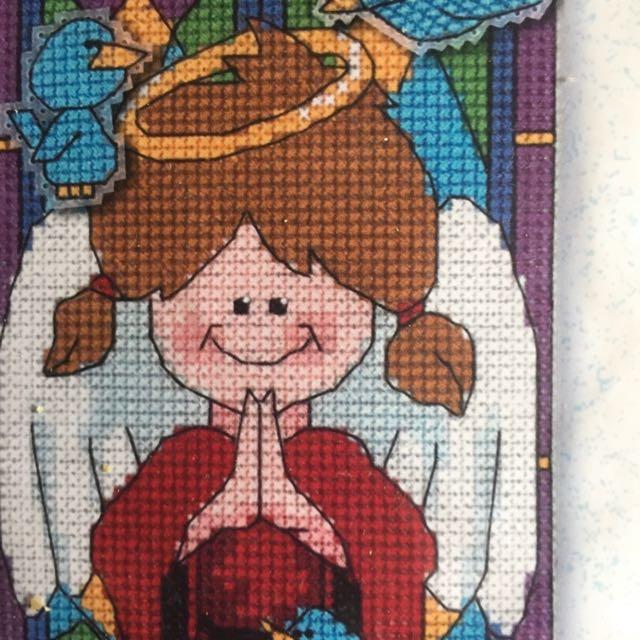 Counted Cross Stitch Christmas Angel Kit