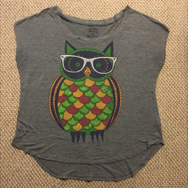 Cute Owl Top