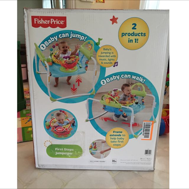 68ac6d05c Fisher Price First-Step Jumperoo