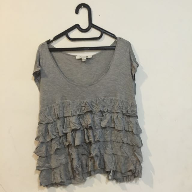 Forever 21 Ruffle Top