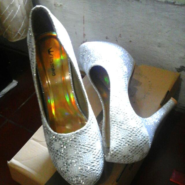 REPRICE!! Hig Heels Glitter (Size 40)