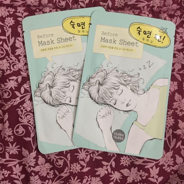 Holika Holika Before Deep Sleep Mask Sheet