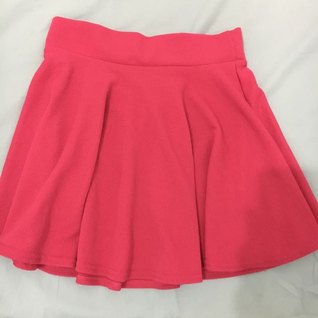 Hot Pink Circle Skirt