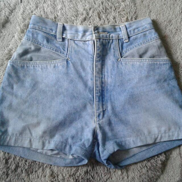 Hot Pants High Rise Jeans  Bonjour Made In Hongkong