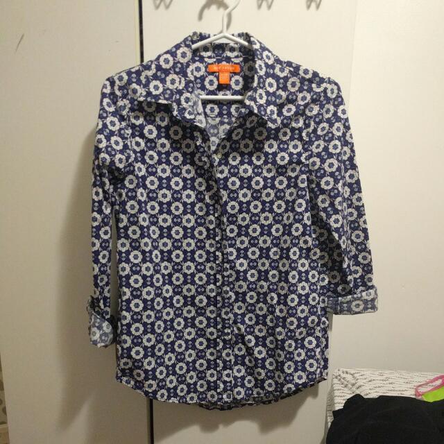 Joe Fresh, Polo Long Sleeves,Medium Size