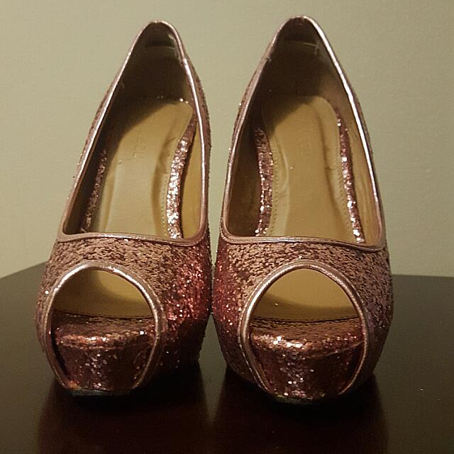 Le Chateau Pink High Heels