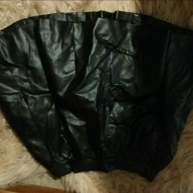 Leatjer Like High Waisted Skirt Size 6-8