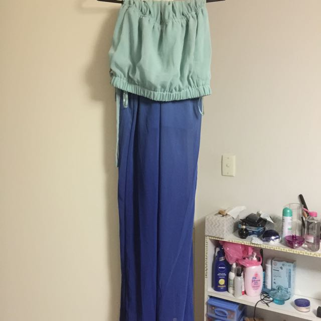 Long Boob Tube Dress