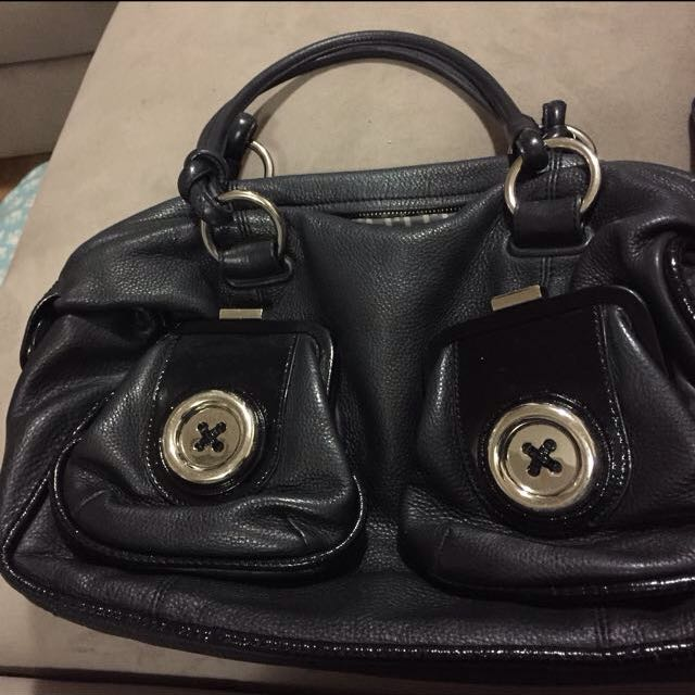Mimco Large Button Hand Bag