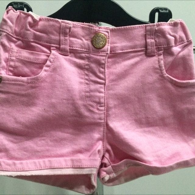 Mother Care Pink shorts