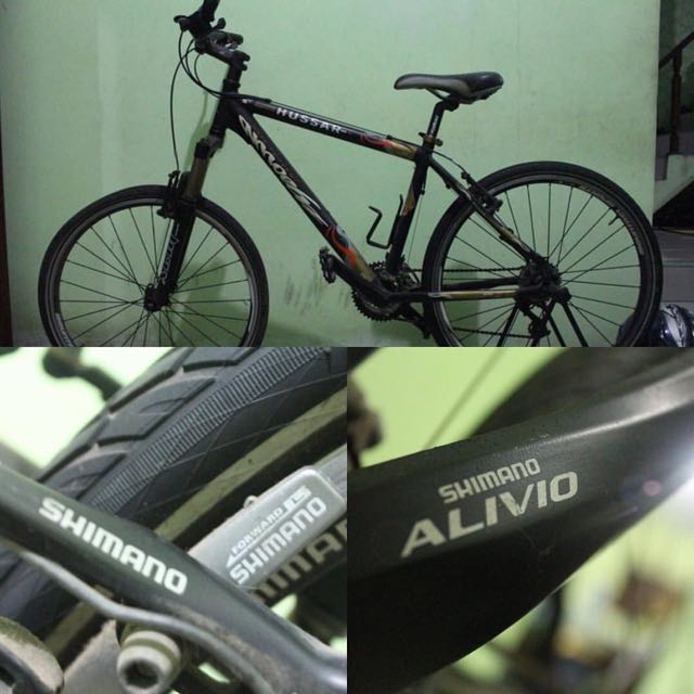 Mountain Bike Hussar Full Shimano Alivio