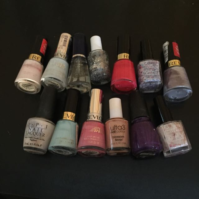 Nail Polish Bulk Pack (OPI, Revlon, Ulta3, Face Of AUS)