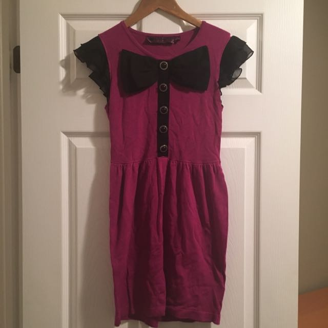 Pink Knit dress Sz s